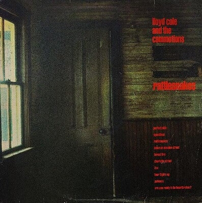 LLOYD COLE & THE COMMOTIONS - RATTLESNAKES UK original (LP)
