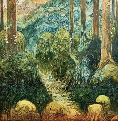 AGUSA - S/T Green vinyl (LP)