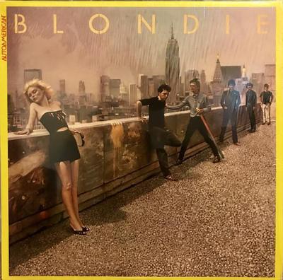 BLONDIE - AUTOAMERICAN Swedish original pressing (LP)