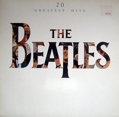 BEATLES, THE - 20 GREATEST HITS 1982 compilation, German pressing (LP)