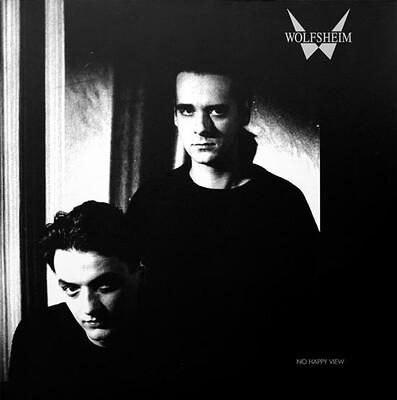 WOLFSHEIM - NO HAPPY VIEW German vinyl, Indigo edition 1992/93 with Black inner sleeve (LP)