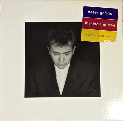 GABRIEL, PETER - SHAKING THE TREE: TWELVE GOLDEN GREATS 1990 compilation, German pressing (LP)