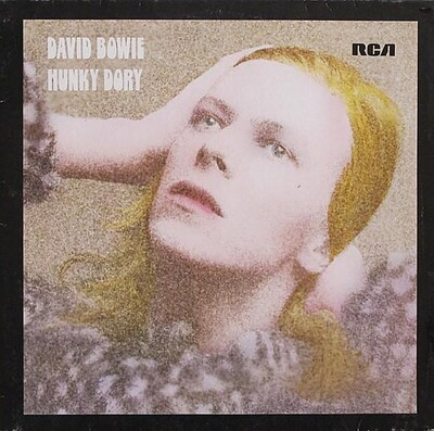BOWIE, DAVID - HUNKY DORY German 1977 re-issue (LP)