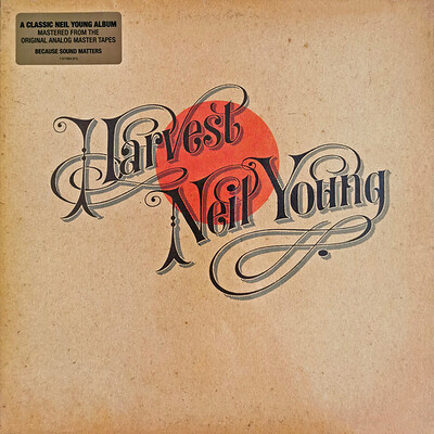 """YOUNG, NEIL - HARVEST U.S. 2009 180gram """"Neil Young Archives"""" release (LP)"""