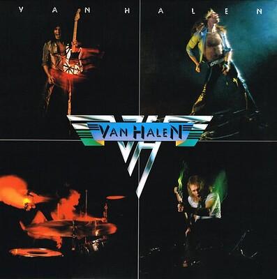 VAN HALEN - S/T 180g reissue of their 10x Platinium debut album (LP)