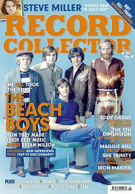 RECORD COLLECTOR MAGAZINE - No 521 August 2021 incl. Beach Boys, Steve Miller, Iron Maiden, Eddy Grant etc. (MAG)