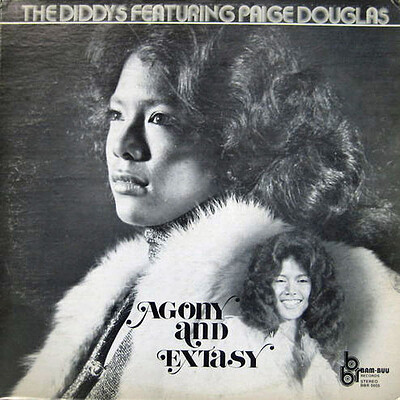 THE DIDDYS FEATURING PAIGE DOUGLAS - AGONY AND EXTASY Rare U.S Original. 1977 soul/Funk/jazz, Nice copy still in shrink (LP)