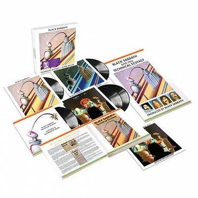 BLACK SABBATH - TECHNICAL EXTACY 5xLP deluxe box (LP-BOX)