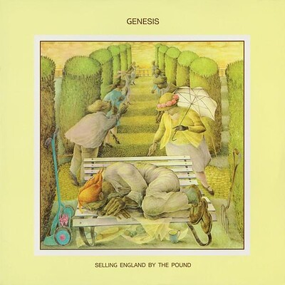GENESIS - SELLING ENGLAND BY THE POUND European 2008 180g re-issue, still sealed! (LP)