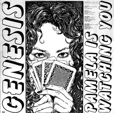 GENESIS - PAMELA IS WATCHING YOU Double album, live in Germany 1974/75 (2LP)