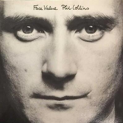 COLLINS, PHIL - FACE VALUE Canadian pressing, gatefold sleeve (LP)