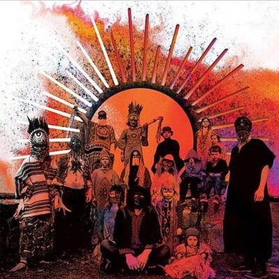 GOAT - REQUIEM original 1st pressing, Orange vinyl (LP)
