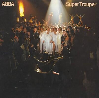 ABBA - SUPER TROUPER Swedish pressing (LP)