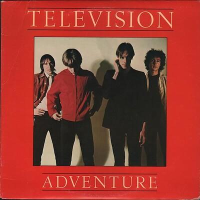 TELEVISION - ADVENTURE 2nd Album (LP)