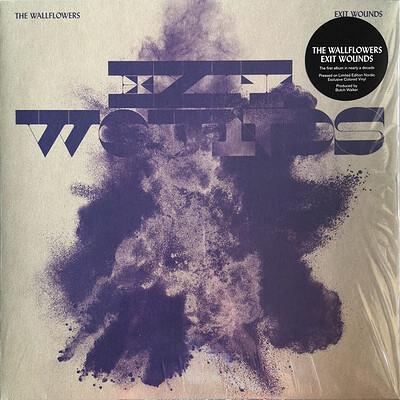 THE WALLFLOWERS - EXIT WOUNDS Scandinavian exclusive Limited Edition, Pink, Blue, Black Splatter vinyl (LP)