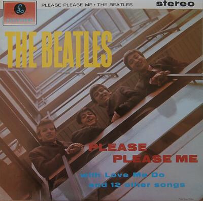 BEATLES, THE - PLEASE PLEASE ME Swedish 1976 pressing (LP)