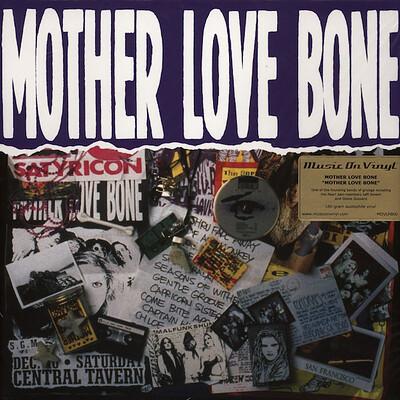 MOTHER LOVE BONE - S/T 180g Rare Black vinyl with poster (2LP)