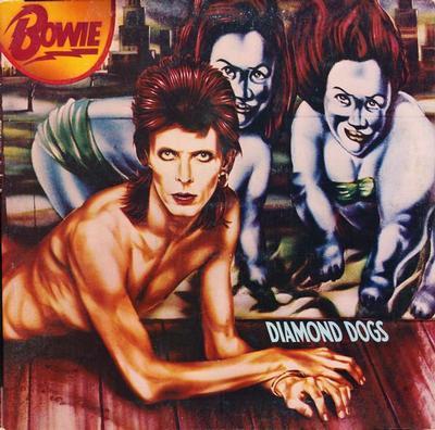 BOWIE, DAVID - DIAMOND DOGS U.S. pressing, gatefold sleeve (LP)