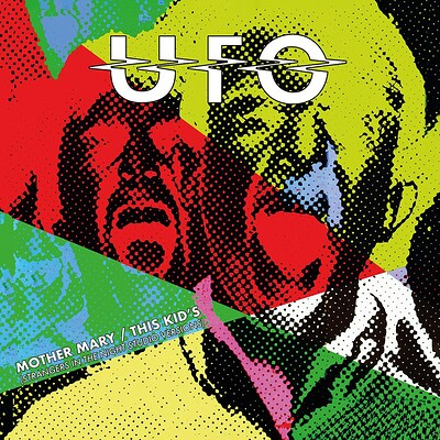 """UFO - MOTHER MARY/ This Kid´s Clear vinyl RSD21 release (10"""")"""