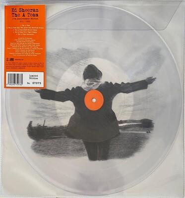 SHEERAN, ED - THE A TEAM Clear Picture disc, RSD21 (LP)
