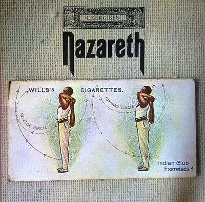NAZARETH - EXERCISES Blue vinyl, 2009 remaster (LP)