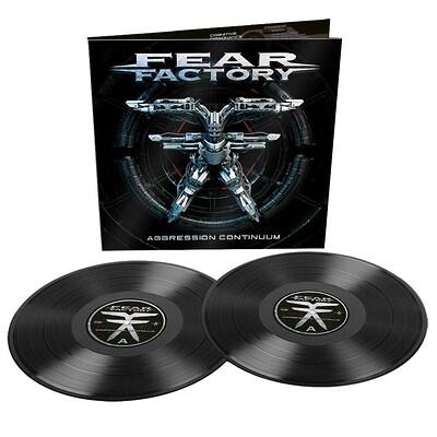FEAR FACTORY - AGGRESSION CONTINUUM (2LP)