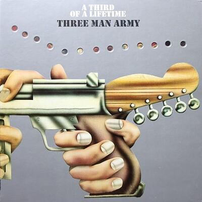 THREE MAN ARMY - A THIRD OF A LIFETIME rare 2015 reissue, still sealed (LP)
