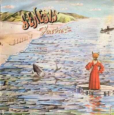 GENESIS - FOXTROT U.S. mid-70:s re-issue (LP)