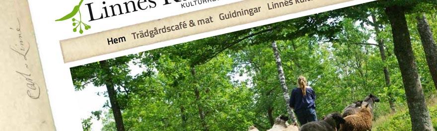 Linnés Råshults nya websida