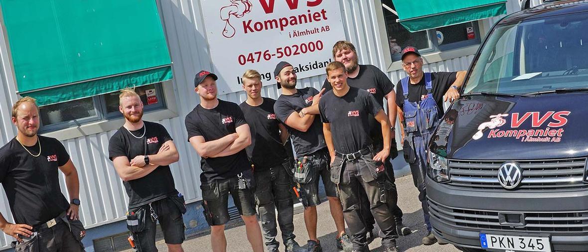 Kaxig bygger: VVS Kompaniet i Älmhult AB