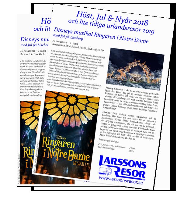 Larssons Resor Katalog höst vinter 2018-2019