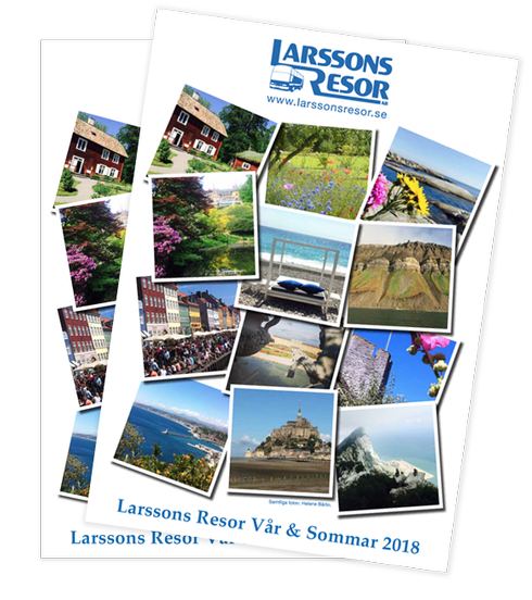 Larssons Resor katalog vår & sommar 2018