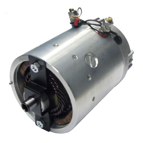 Motor 2kW 12V open star counterclockwise HACO