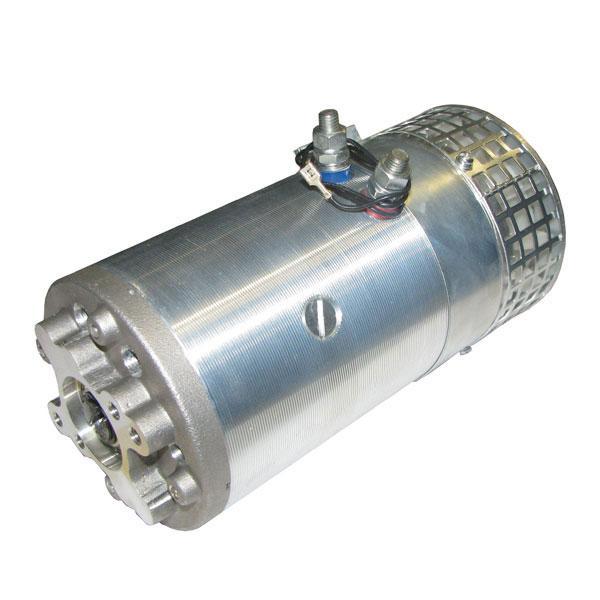 Motor 3kW 24V closed female clockwise V HACO