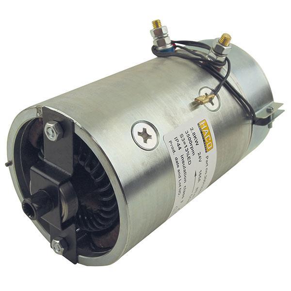 Motor 2,8kW 24V open star counterclockwise HACO