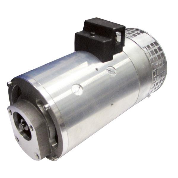 Motor 4,5kW 24V closed male clockwise Ventilated HACO