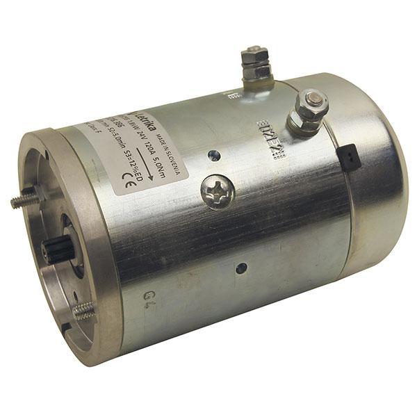 Motor 1,8kW 24V closed star clockwise Iskra