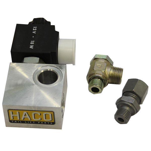 Valveblock + Ventil 12V HACO