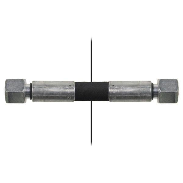 Slang med invändig gänga=10L/gänga =10L - Längd 800mm