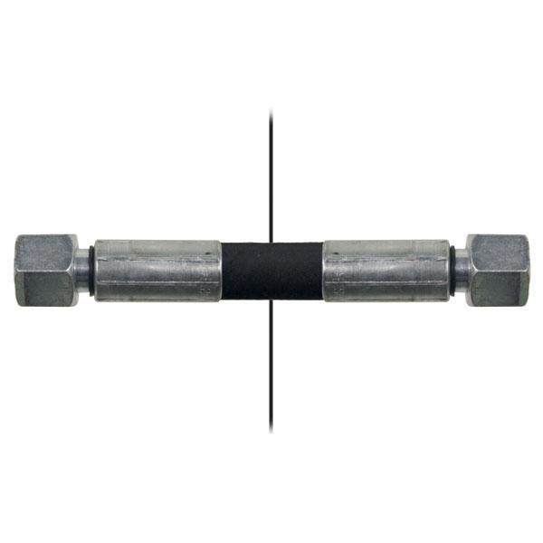 Slang med invändig gänga=10L/gänga =10L - Längd 680mm