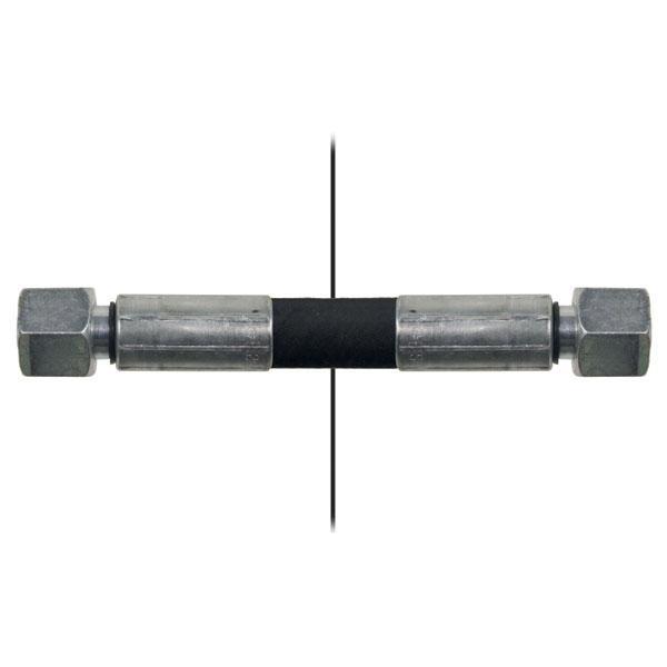 Slang med invändig gänga=10L/gänga =10L - Längd 650mm