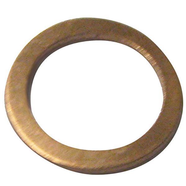 Kopparbricka Ø10x14mm 1.0mm