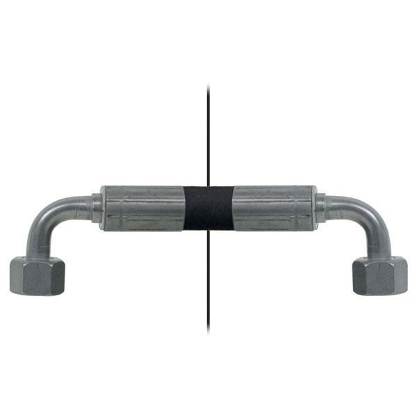 Slang med invändig gänga=12L90°/gänga =12L90° - Längd 2250mm