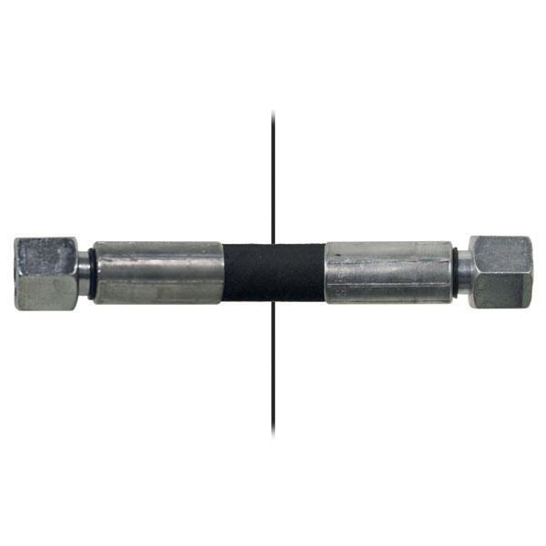 Slang med invändig gänga=10S/gänga =10L - Längd 650mm
