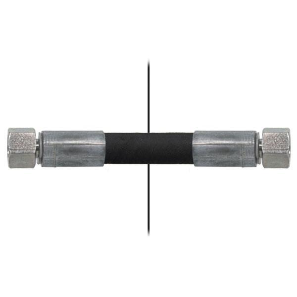 Slang med invändig gänga=1/4''/gänga =1/4'' - Längd 650mm