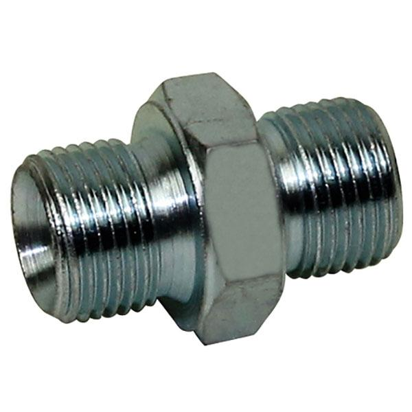 Coupling straight 3/8'' HACO
