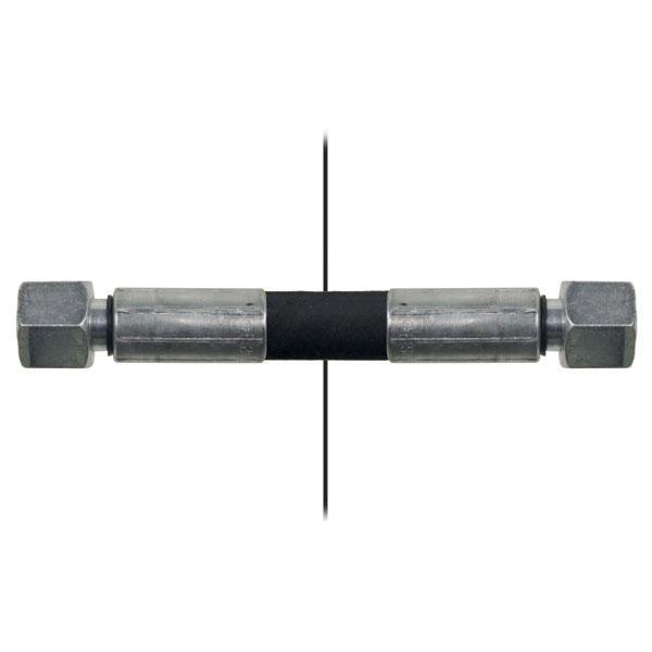 Slang med invändig gänga=10L/gänga =10L - Längd 1650mm