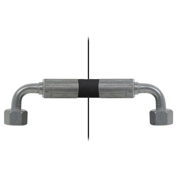 Slang med invändig gänga=12L90°/gänga =12L90° - Längd 2650mm HACO