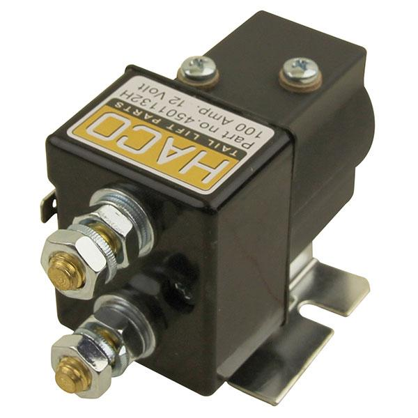 Startsolenoid 12V SW80-PL HACO