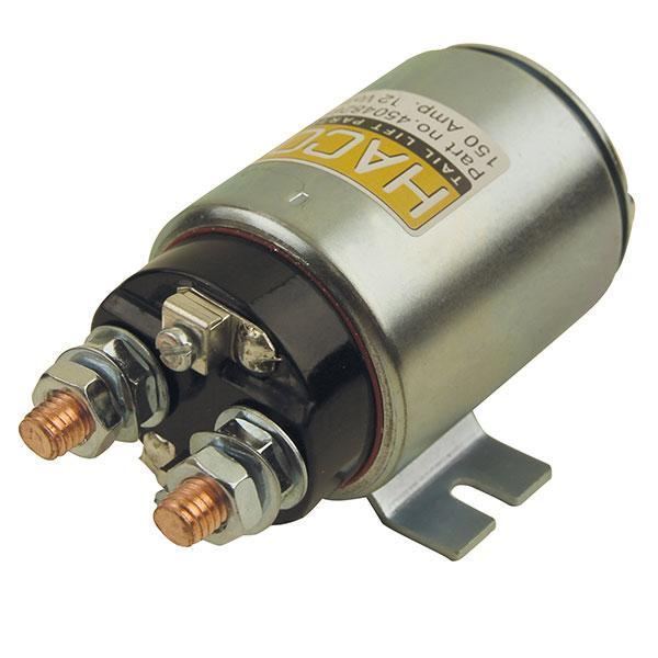 Startsolenoid 12V 150Amp. HACO